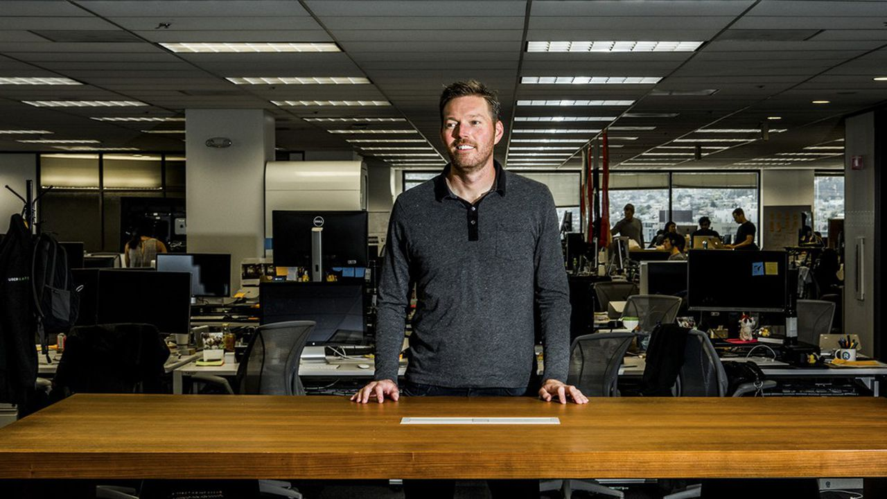 Jason Droege a passé cinq ans à la tête de cette division, spécialisée dans la livraison de repas.