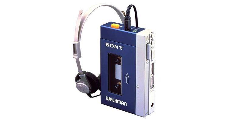 Le Walkman, l'innovation en marche