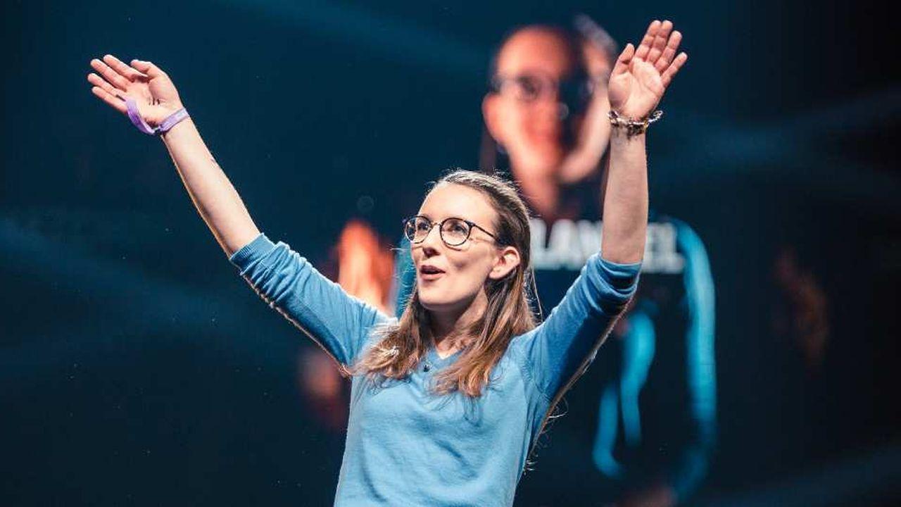 Evelyne Rabi, COO de CybelAngel, a présenté avec succès les activités de son entreprise aux startuppeurs et investisseurs réunis à Helsinki pour la conférence Slush.