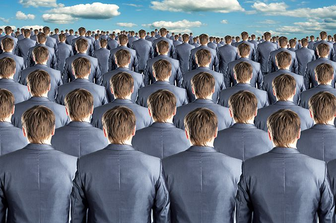 Les moins de 30 ans travaillant dans des grands groupes cherchent avant tout à s'intégrer.