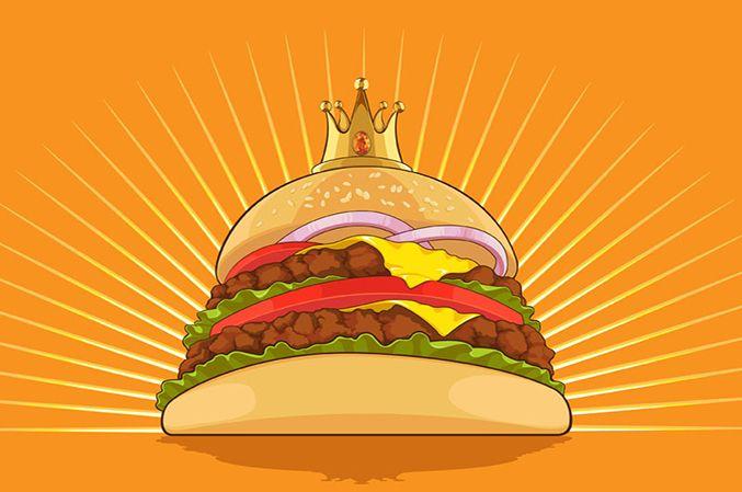 Burger KING est bien décidé à être fidèle à son nom !