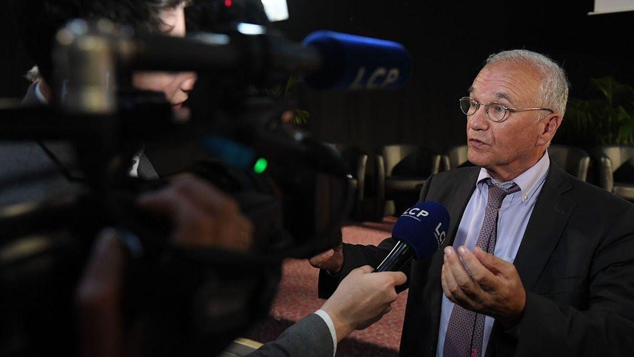 Gilles Carrez, député LR, préside la mission d'information parlementaire sur l'épargne dans un contexte de taux bas, dont les conclusions sont attendues en septembre 2020.