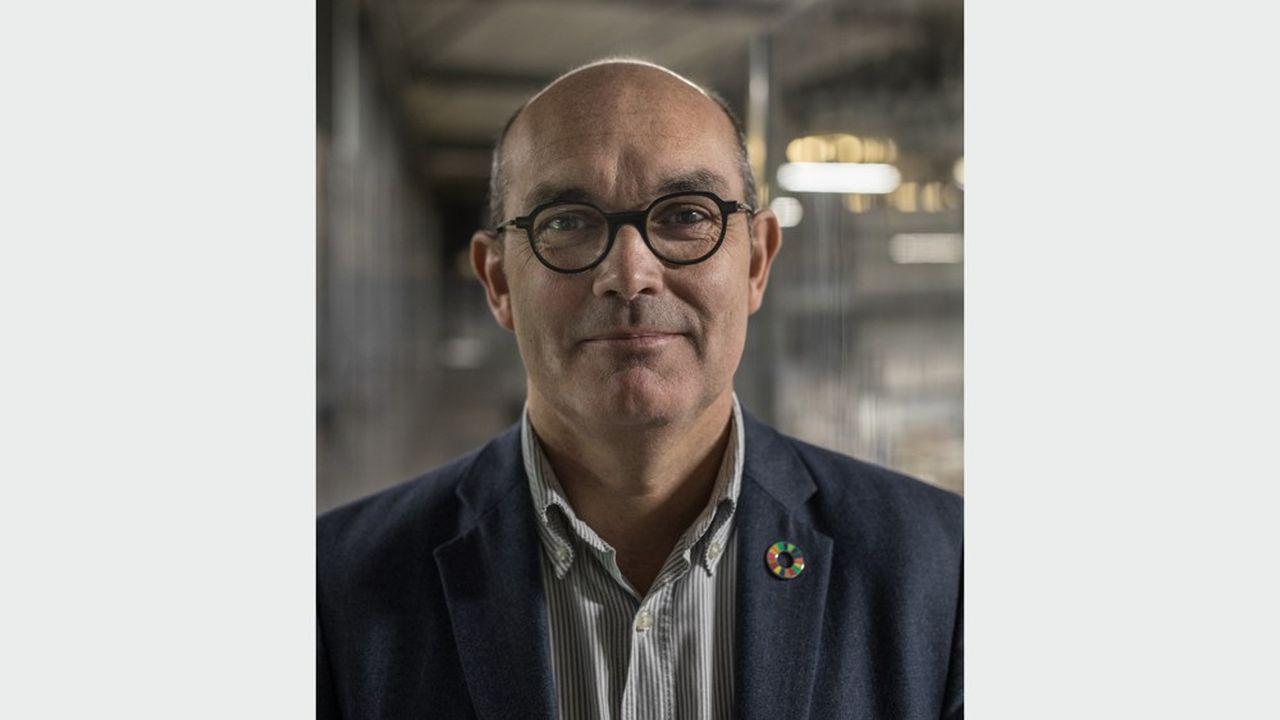 Loïc Hénaff, le président du groupe familial Jean Hénaff.