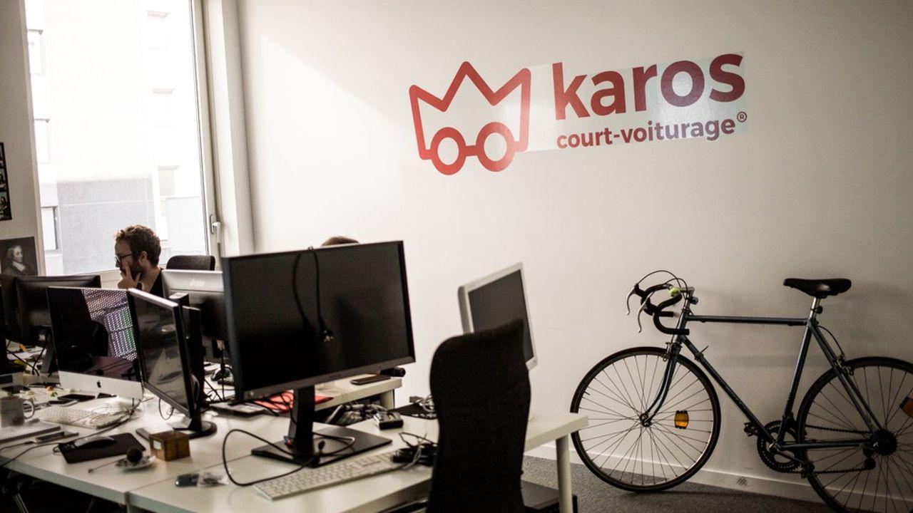 Karos propose ses services de covoiturage aux collectivités locales ou aux entreprises, pour réduire le trafic routier au quotidien.