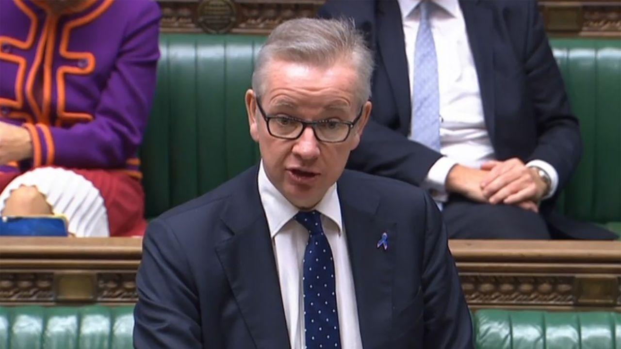 Le chef de cabinet du gouvernement Johnson, Michael Gove, a présenté au Parlement britannique le contenu du mandat de négociation pour la deuxième phase du Brexit.