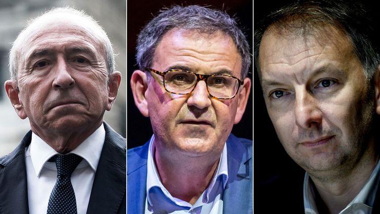 Gérard Collomb, David Kimelfeld et Bruno Bernard.