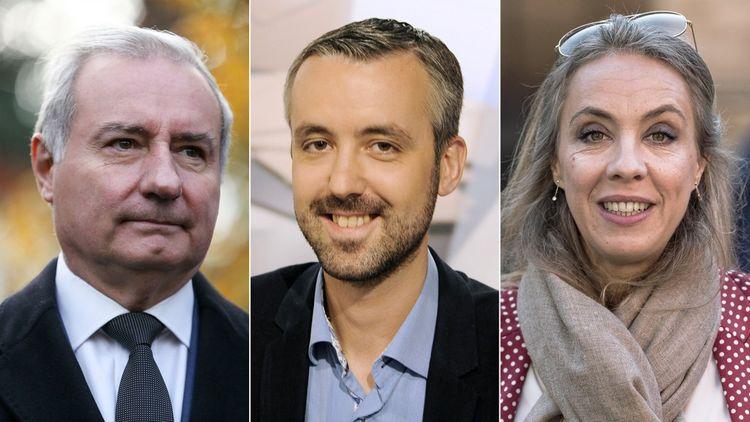 Jean-Luc Mondenc, Antoine Maurice et Nadia Pellefigue.