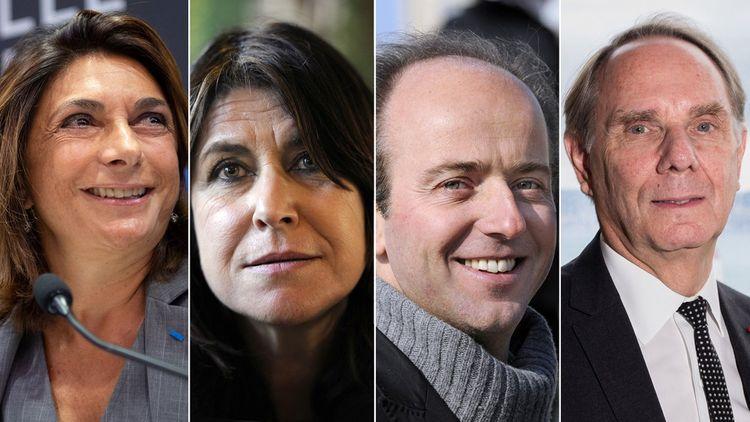 Martine Vassal, Michèle Rubirola, Sébastien Barles et Yvon Berland.