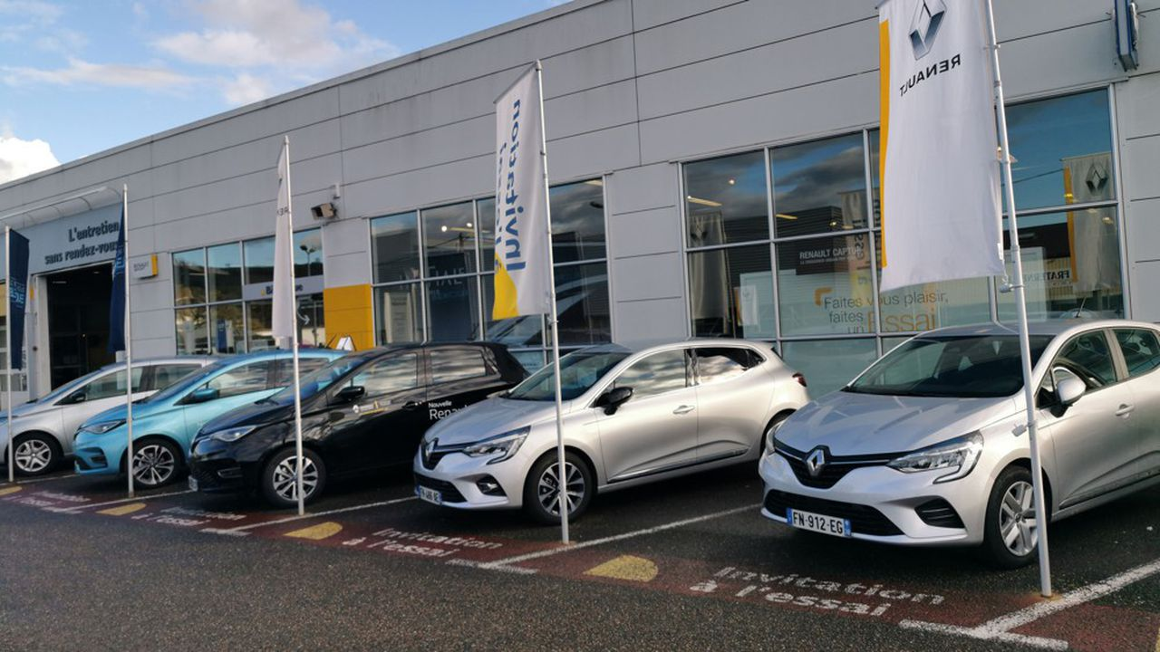 Renault cède 20 % de ses concessionnaires dans l'Hexagone