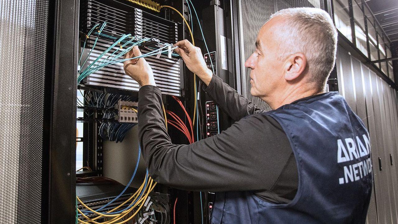 Céleste a un réseau de fibre de 5.000 kilomètres en France et compte 8.000 entreprises clientes.