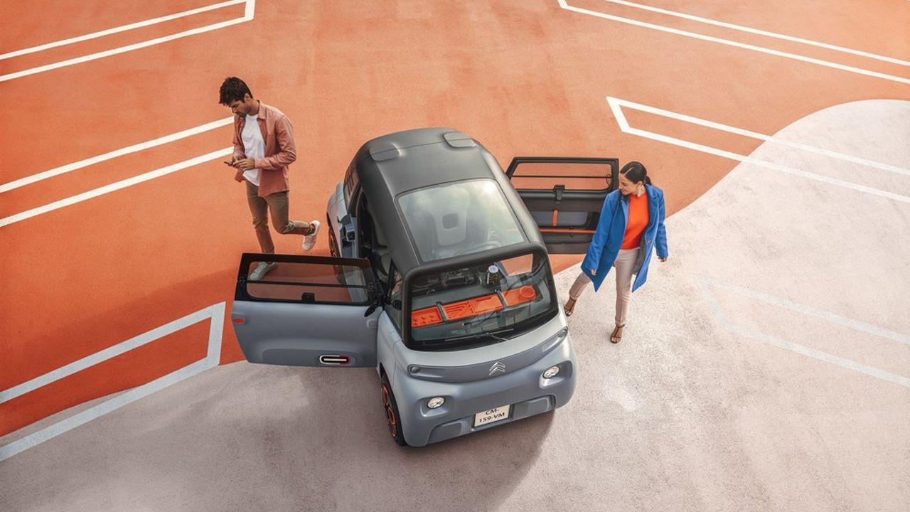 Avec son AMI, Citroën fait le pari d'une microvoiture 100 % électrique à moins de 7.000 euros