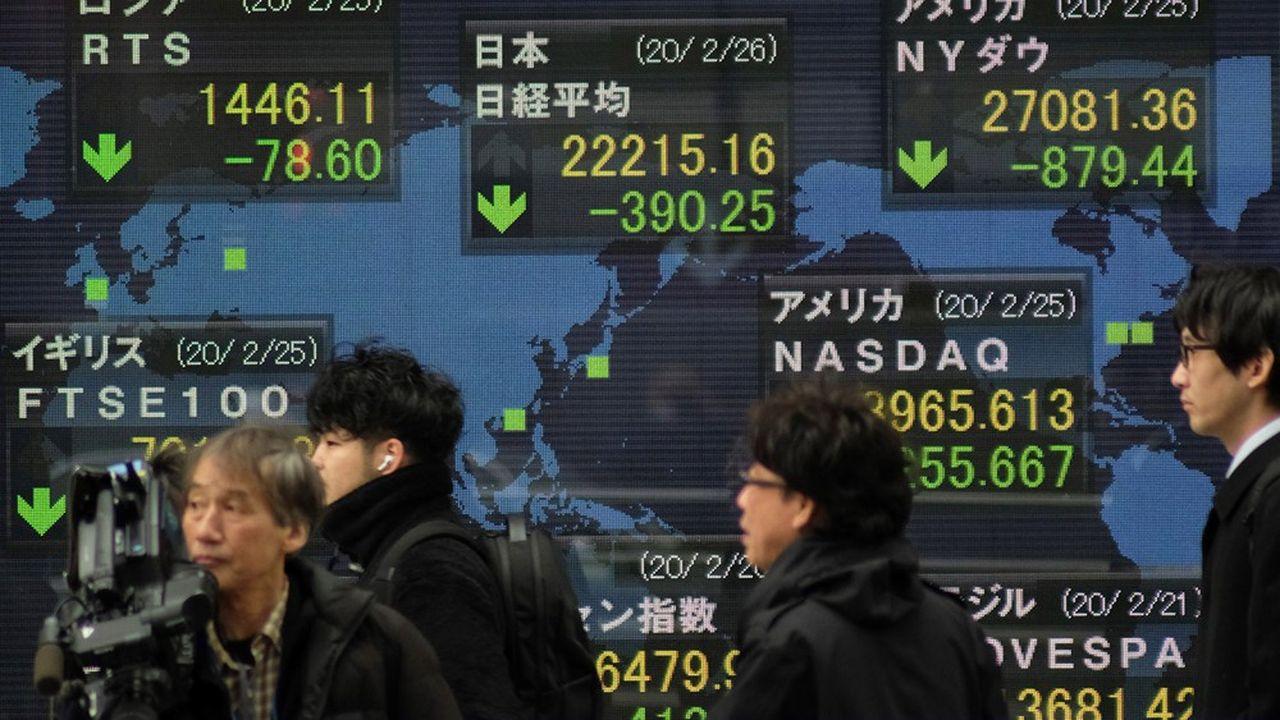 Déroute boursière : les marchés placent leur espoir dans les banques centrales
