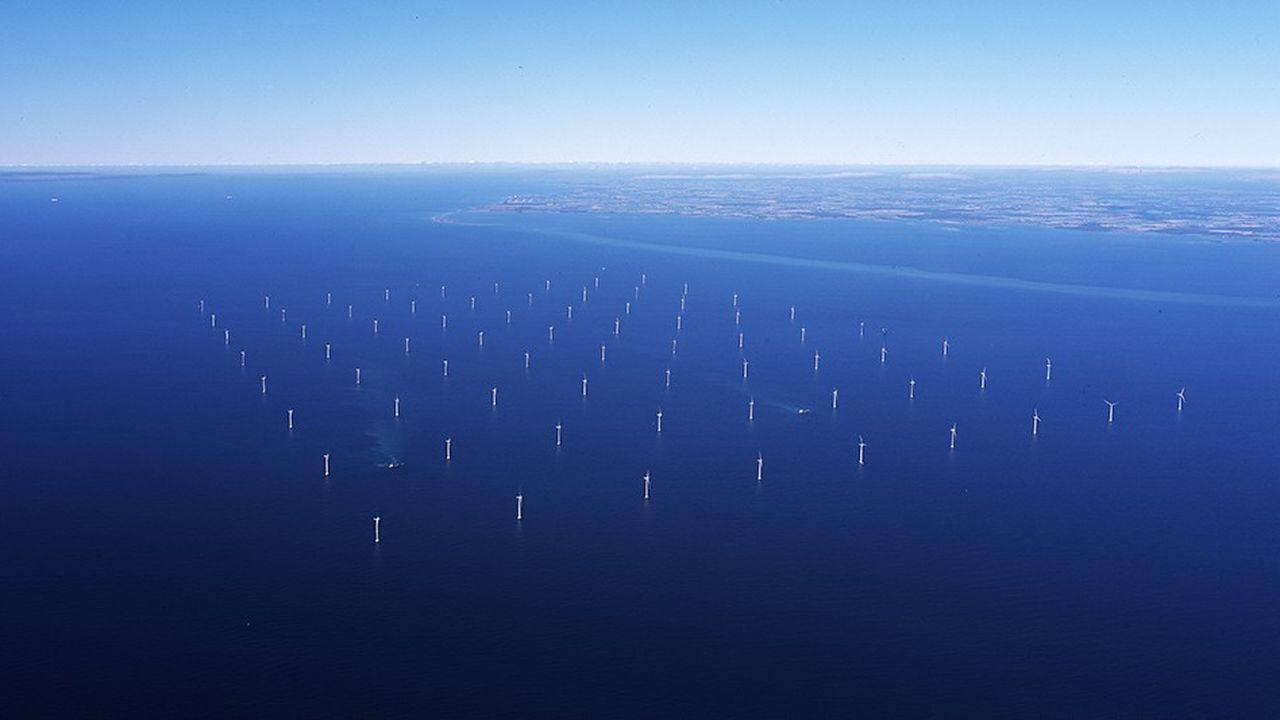 Le parc de Nysted, à 13 km des côtes danoises, compte 72 turbines. C'est l'un des premiers édifiés par Orsted en 2003. À l'époque, cette ferme éolienne était l'une des plus grandes du monde.