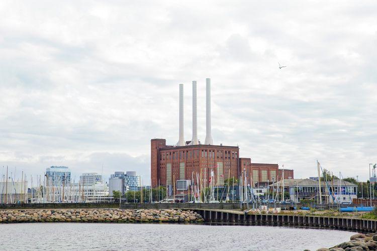 La centrale de Svanemollen, en banlieue de Copenhague.