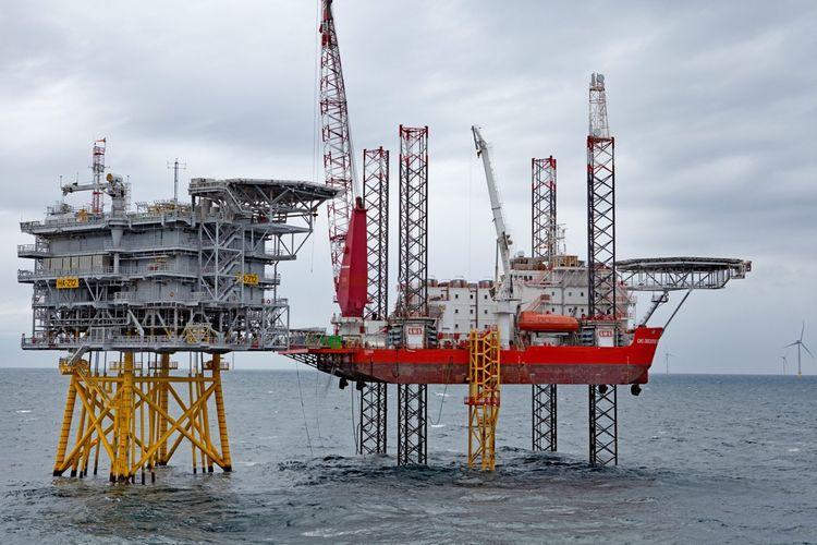 Durant la construction de la ferme offshore Hornsea One au large du Yorkshire, le navire GMS Endeavour servait d'hébergement pour les techniciens.
