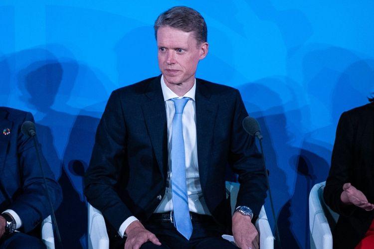 Henrik Poulsen , CEO d'Orsted.