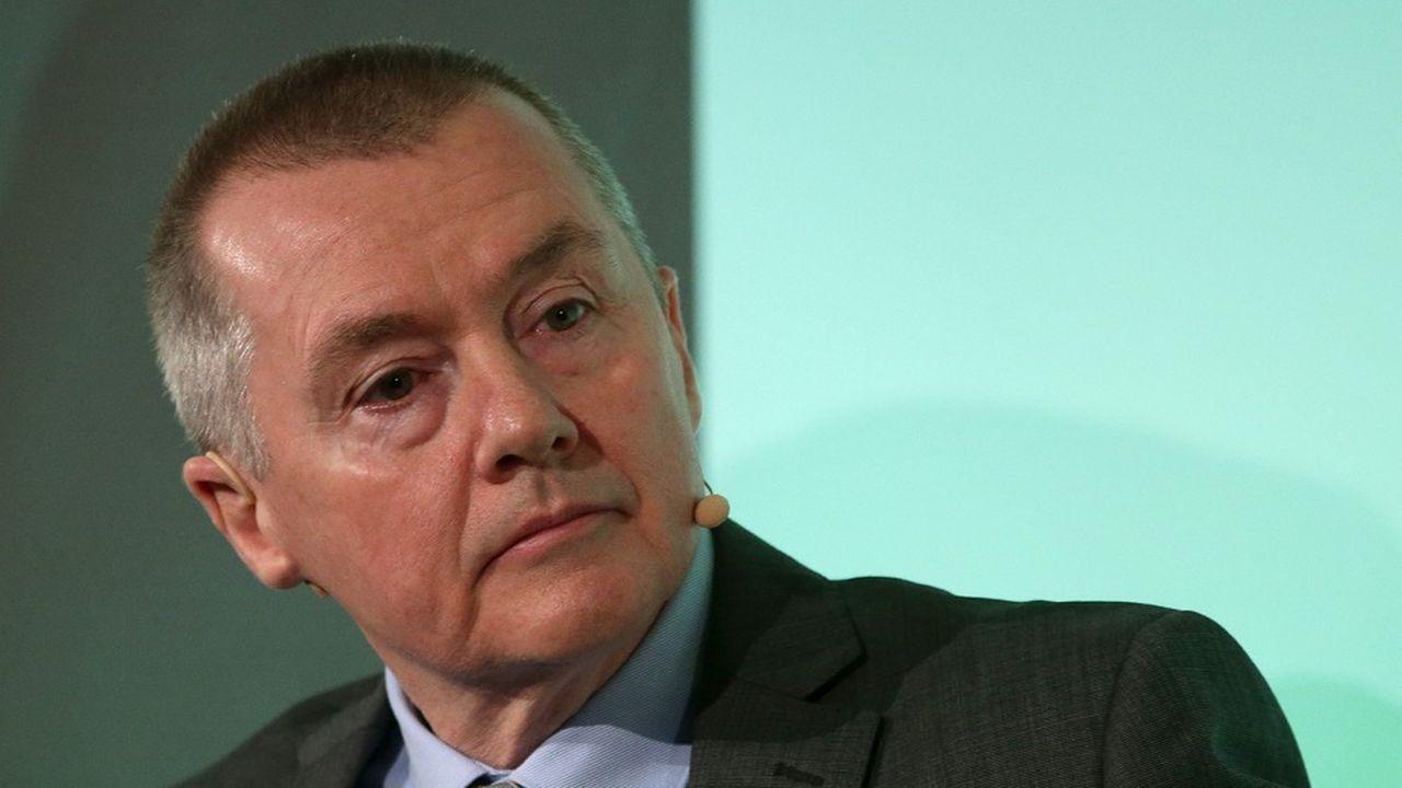 L'emblématique patron d'IAG, Wille Walsh, qui quittera les commandes du groupe fin mars, n'a pas été en mesure de faire des prévisions pour 2020. (Photo by Daniel LEAL-OLIVAS/AFP)