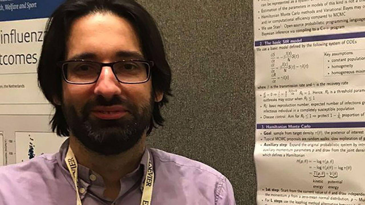 Marc Baguelin est spécialiste des épidémies virales à l'Imperial College de Londres, institut de référence mondiale.