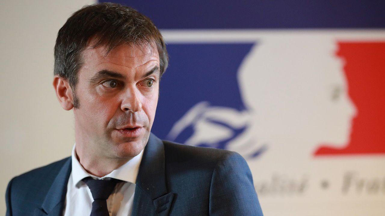 Olivier Véran a indiqué que le nombre total des cas en France s'élevait à 57.