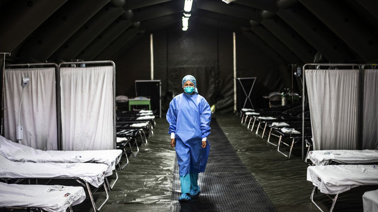 Le virus apparu en Chine continentale s'est propagé sur tous les continents.