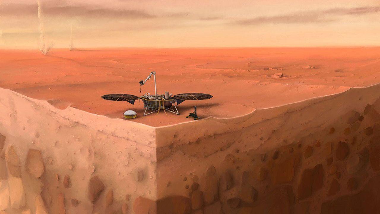 Le robot InSight et son sismographe ont déjà détecté près de 500 frémissements des entrailles de Mars.