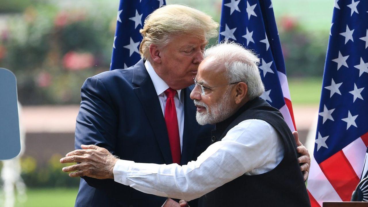 Donald Trump et Narendra Modi peuvent célébrer avec pompe l'approfondissement de l'amitié entre leurs deux pays. Il conviendrait plutôt de parler de l'autocélébration de deux ego surdimensionnés.