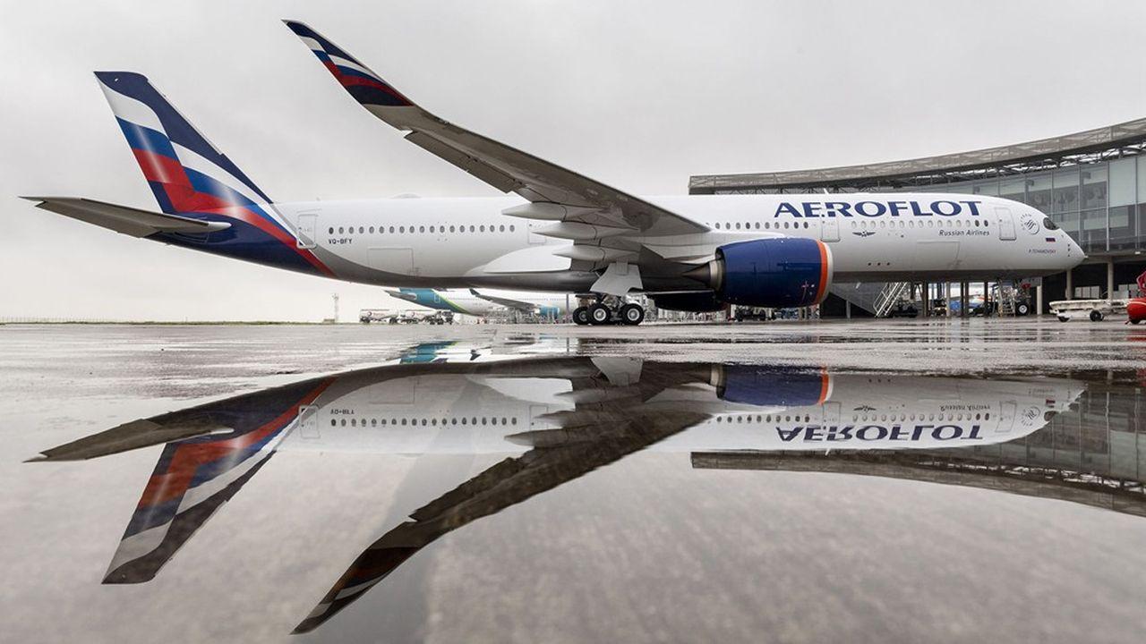 Le premier des 22 Airbus A350-900 commandés par Aeroflot a été livré vendredi à Toulouse.