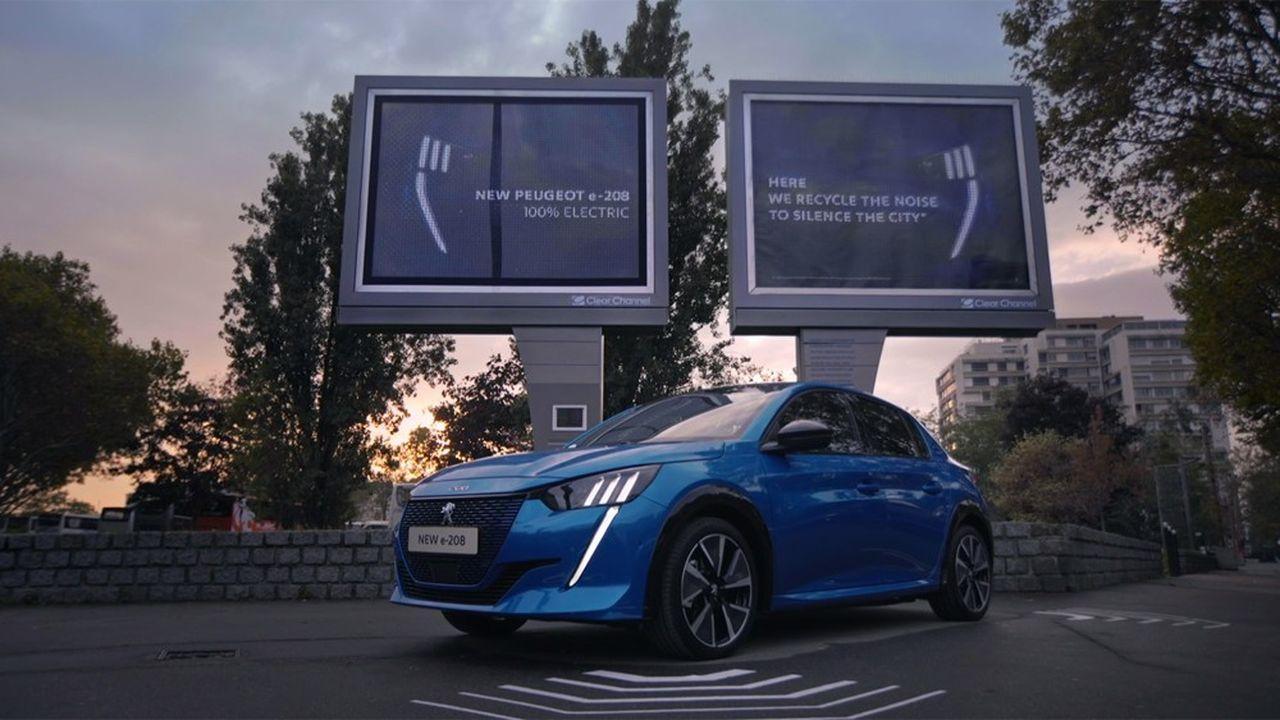L'attribution du 46 ème Grand Prix à Peugeot e-208 récompense une affiche ambitionnant d'être à la fois créative et militante.