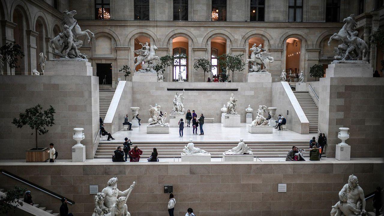 Le Louvre a reçu 9,6millions de visiteurs sur l'ensemble de l'année 2019.