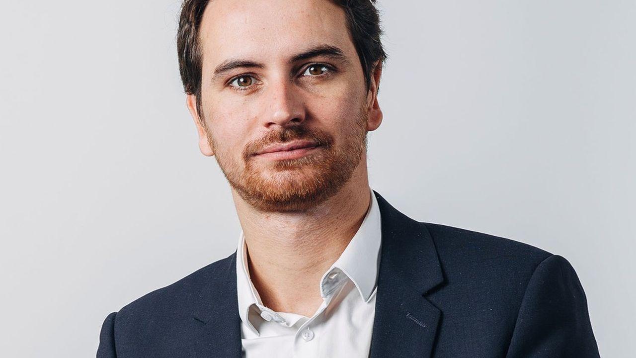 Maxime Delauney, le président de la société nantaise Avoloi.