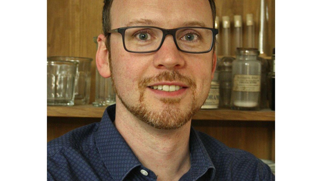 Jérôme Canivet, spécialiste de la catalyse pour la chimie fine ou l'énergie, à l'Ircelyon.