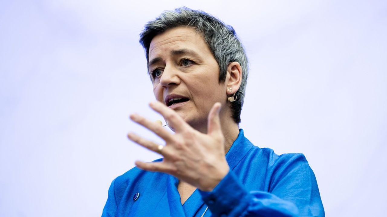 Margrethe Vestager, commissaire européen à la Concurrence
