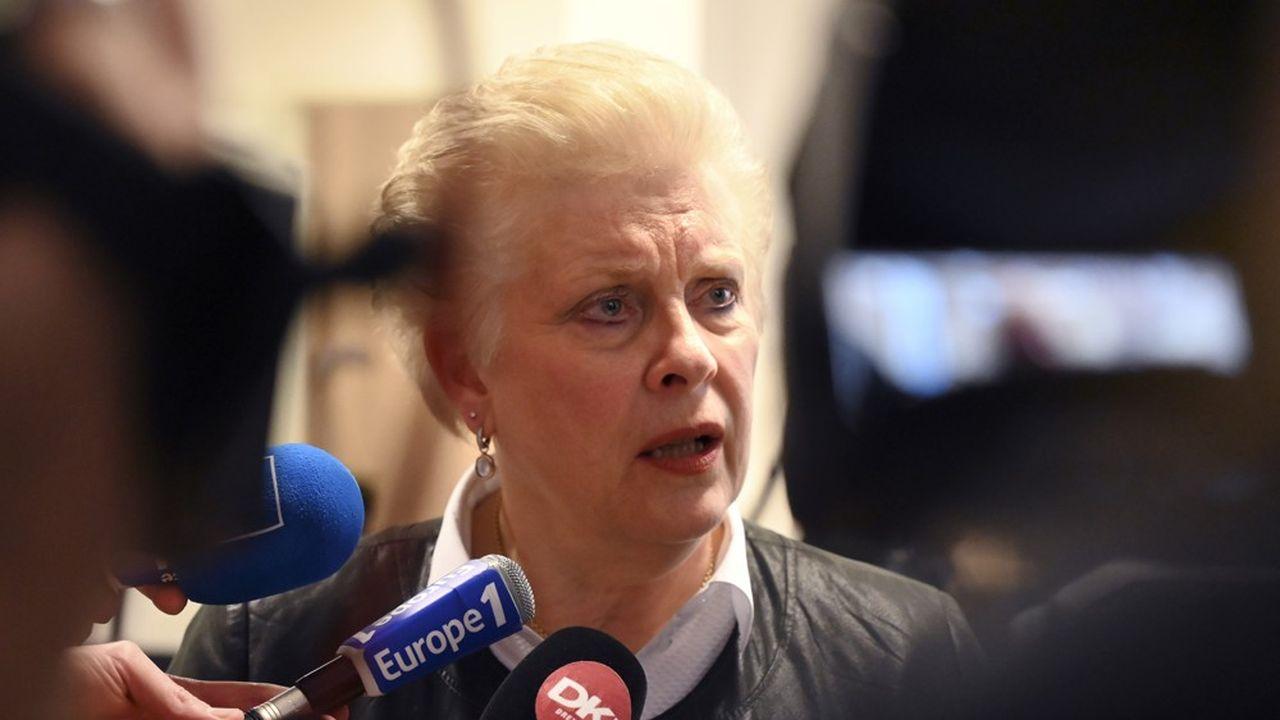 Catherine Trautmann a été propulsée début février tête de liste pour le PS à la place de Mathieu Cahn.