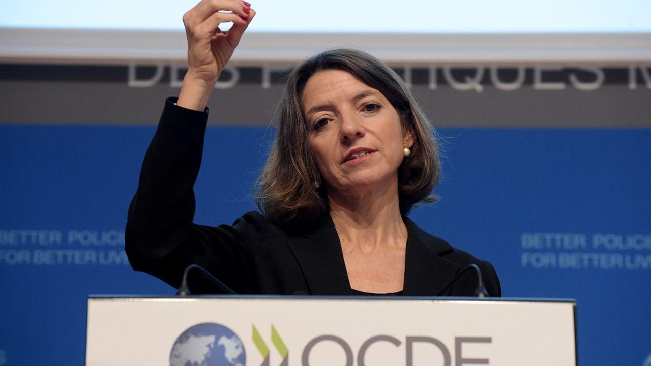 Pour Laurence Boone, économiste en chef de l'OCDE, il faut accepter une détérioration des finances publiques pour soutenir les secteurs mis en difficulté par le coronavirus.