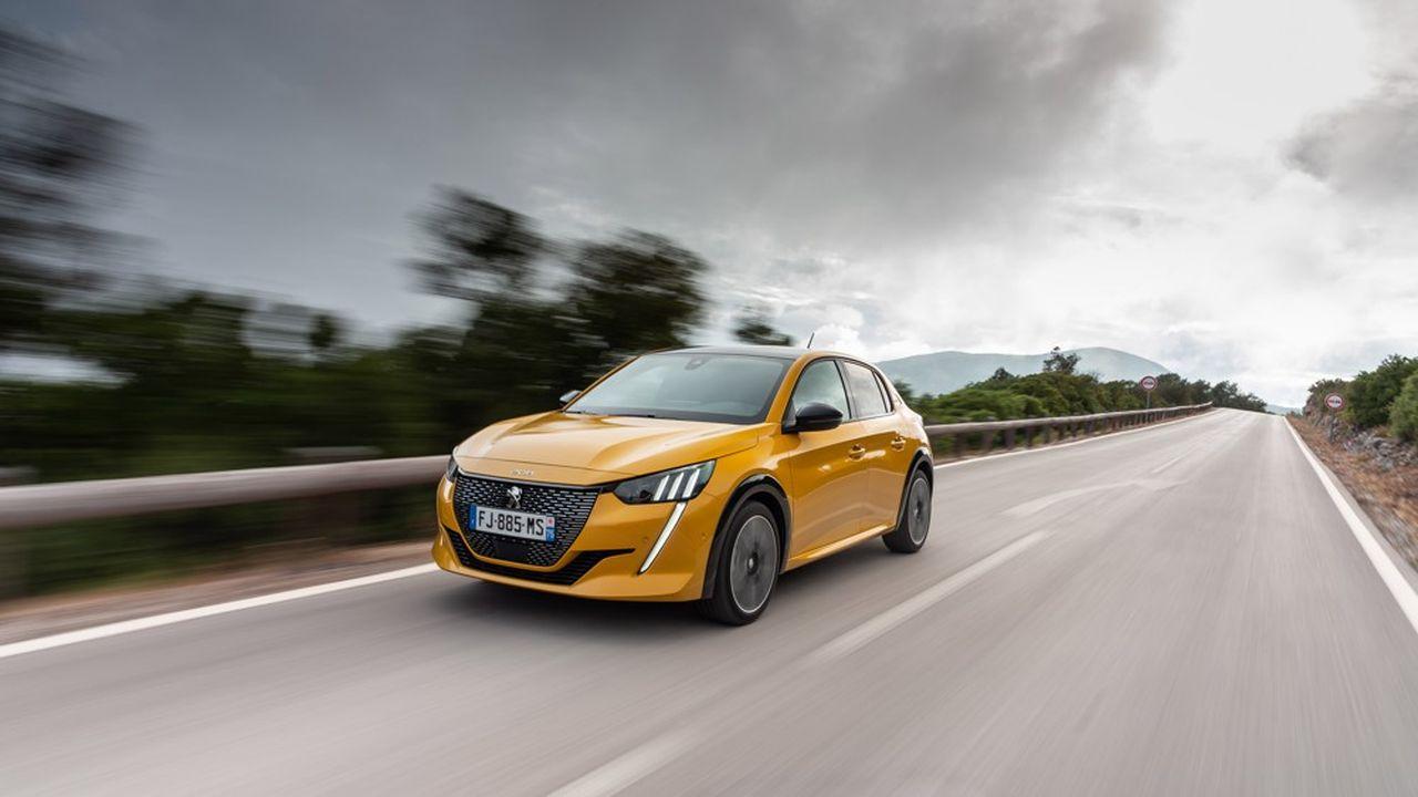 La Peugeot 208 Elue Voiture Europeenne De L Annee 2020 Les Echos