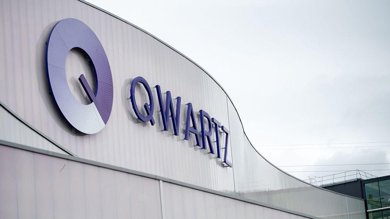 Qwarz, à Villeneuve-la-Garenne, près de Paris, est l'un des principaux centres commerciaux d'Altarea.