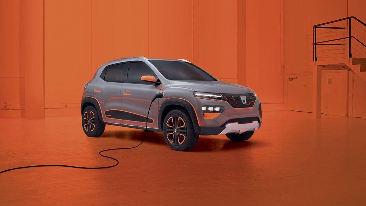 Une «vraie voiture» électrique à moins de 15.000euros en Europe? C'est le pari que lance aujourd'hui Renault avec sa marque Dacia.
