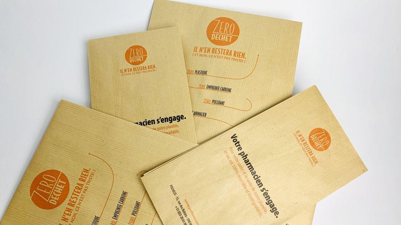 Le sac promet d'être recyclable, biodégradable et très résistant.