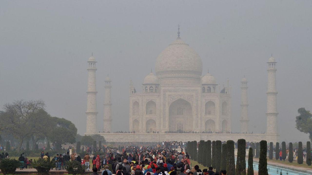 Dans l'état de l'Uttar Pradesh, situé au nord de l'Inde, la pollution par les particules fines réduit l'espérance de vie de 8,5 ans.