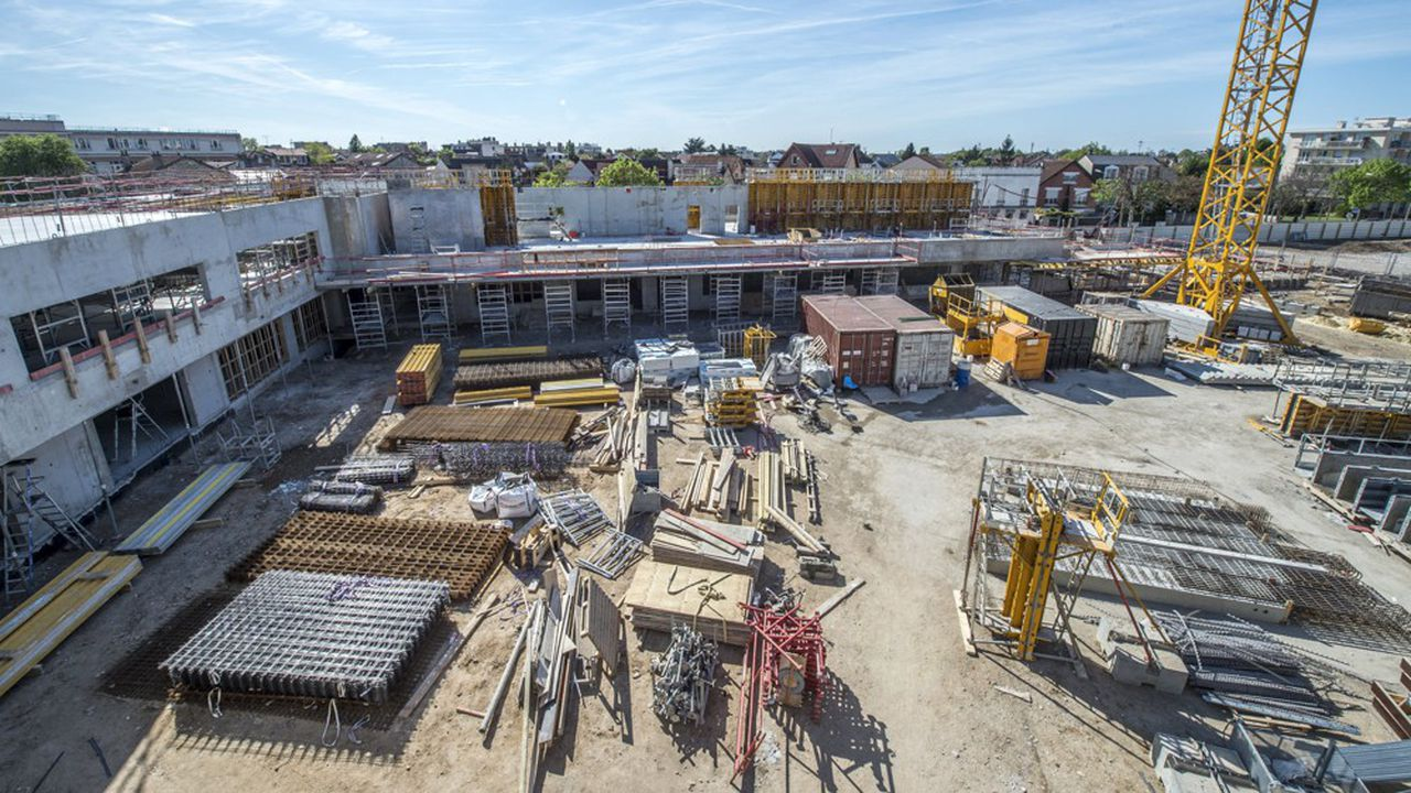 Plus de 4.000 logements sont en cours de construction dans cette ville de 75.000 habitants.