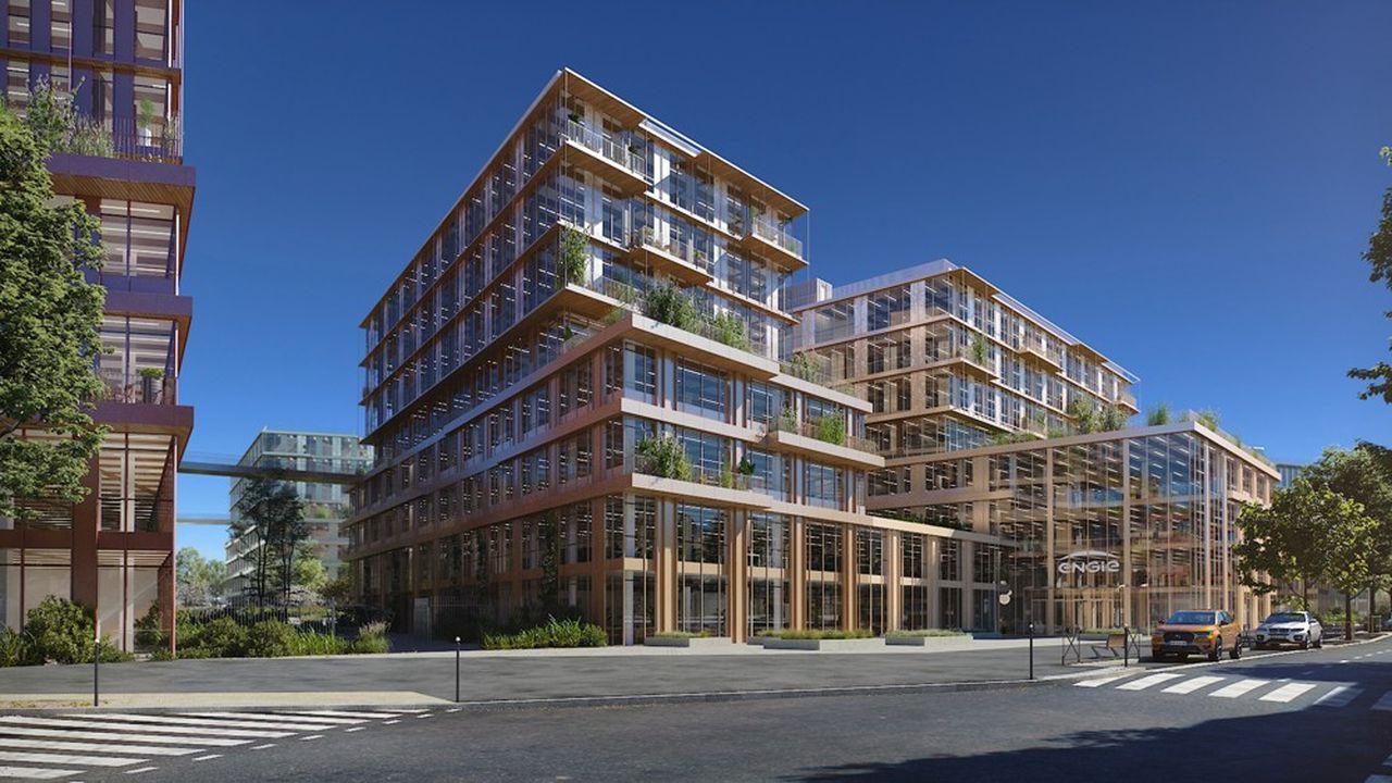 L'ensemble se composera de six immeubles de 6 ou 7 étages.