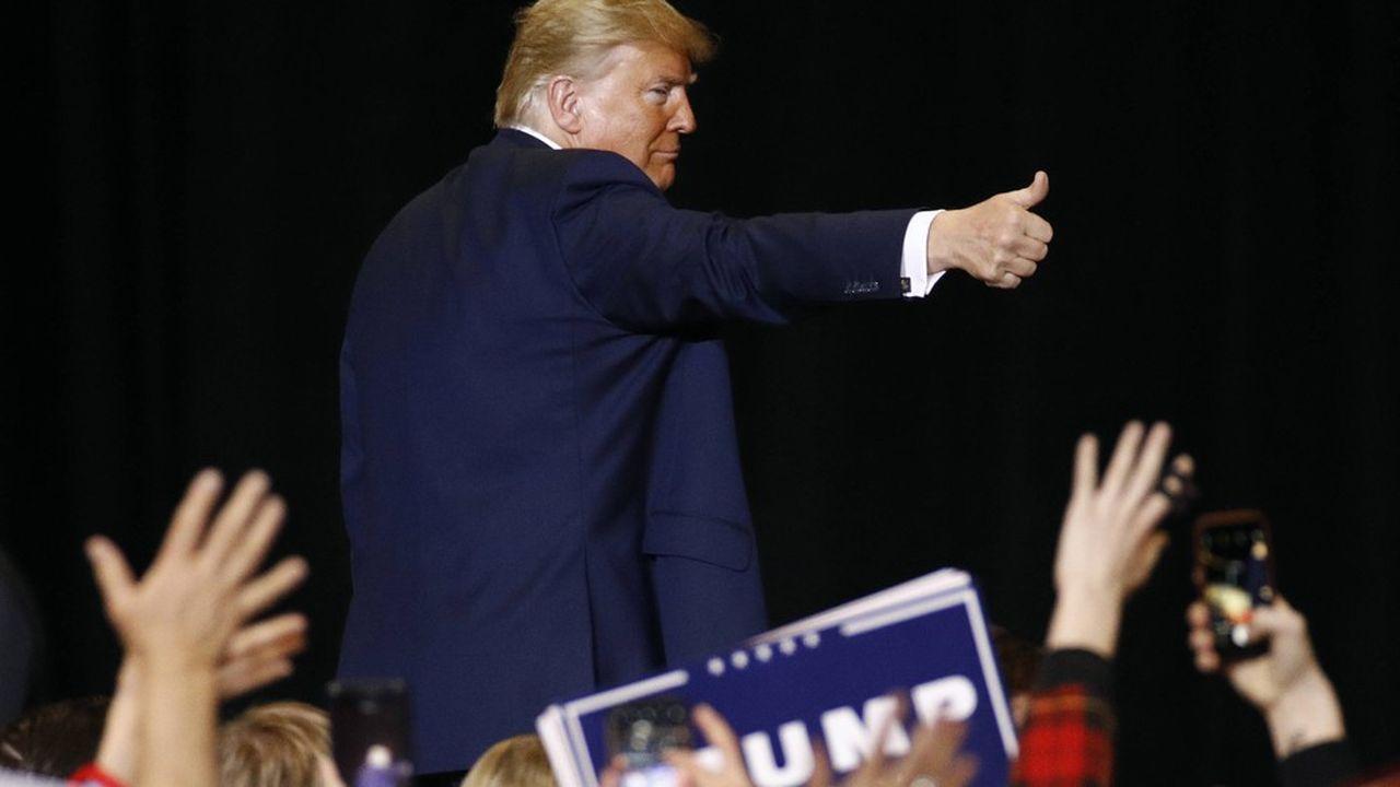 Donald Trump a déjà dépensé 133millions de dollars, sur près de 220millions de dollars levés auprès de donateurs et de comités.