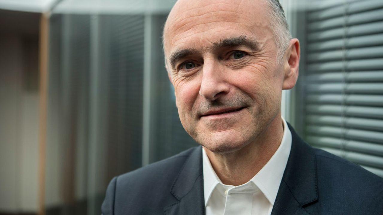 Jean-Pierre Denis, président du groupe Arkéa.