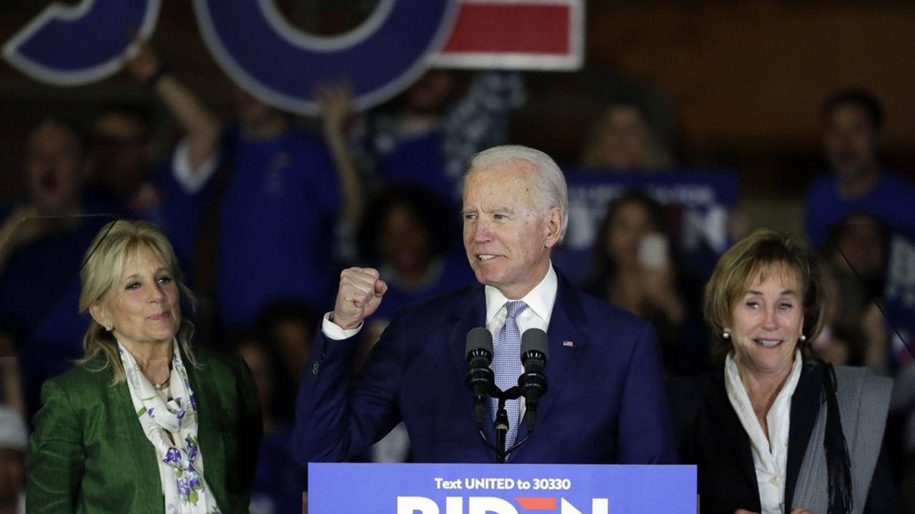 Joe Biden semble être le seul à pouvoir faire barrage à Bernie Sanders.