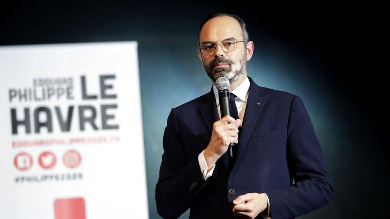 Selon un sondage Ifop pour CNews, Edouard Philippe n'échapperait pas à un second tour auHavre, où la politique nationale et le climat tendu du pays auront régulièrement fait irruption dans sa campagne.