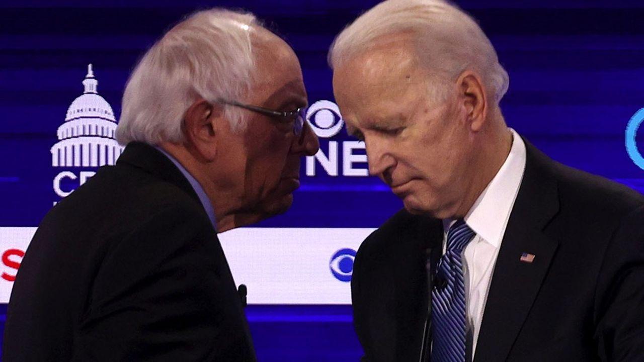 Bernie Sanders, 78 ans, et Joe Biden, 77 ans, vont se disputer l'investiture démocrate pour défier Donald Trump.