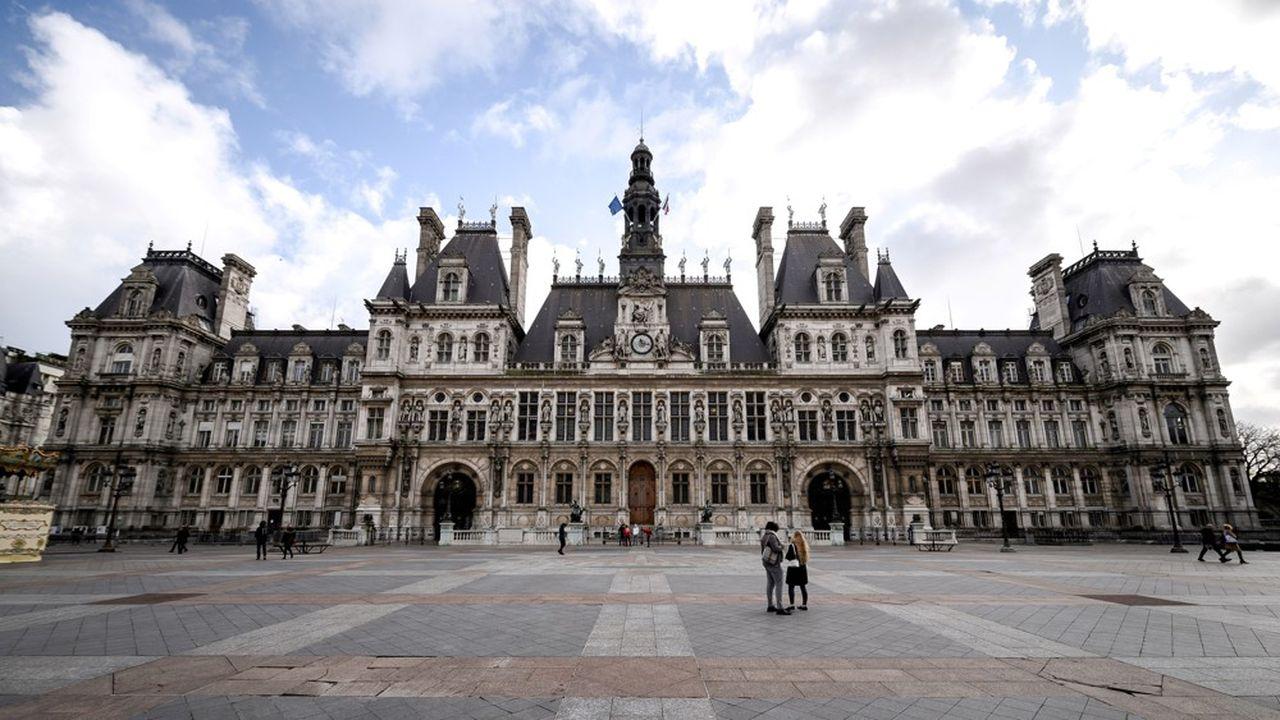 La mairie de Paris.