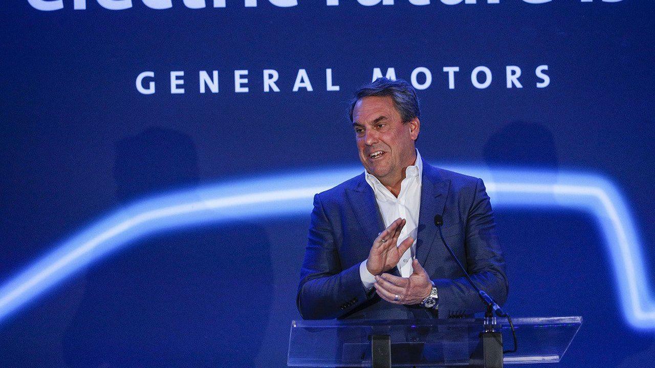 Mark Reuss, le patron de General Motors, a présenté les nouveautés du groupe en matière de véhicules électriques.