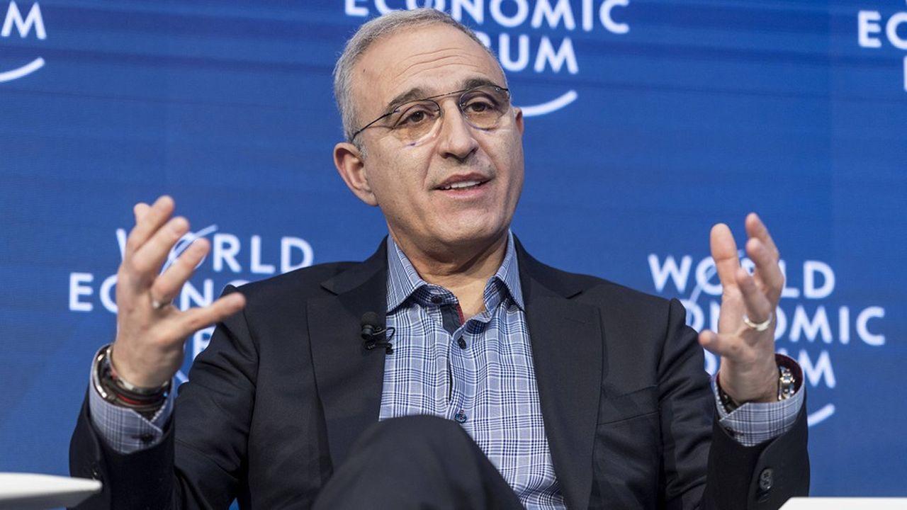 Antonio Neri, PDG de HPE.