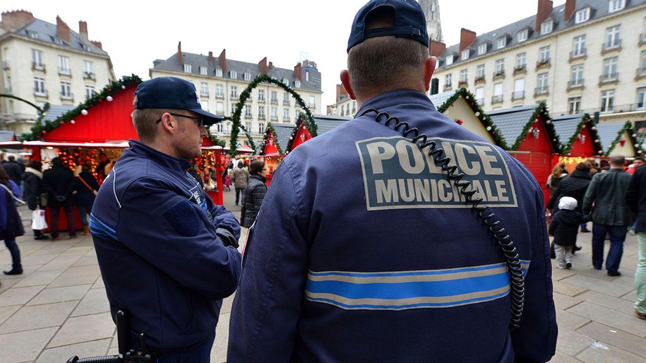Nantes compte aujourd'hui 115 policiers municipaux.